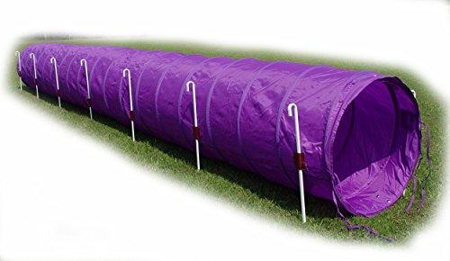 Creative Dog Train 18' Dog Agility Tunnel (Purple)