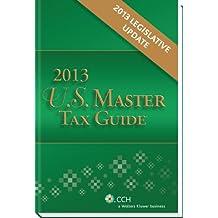 U.S. Master Tax Guide, 2013 Legislative Update
