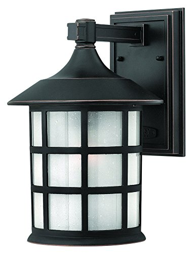 Hinkley 1804OP Traditional One Light Wall Mount from Freeport collection in Bronze/Darkfinish,