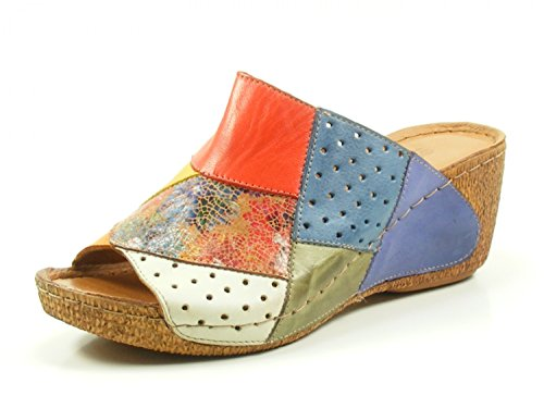 Sabots Chaussures Multicolores 032235 Mules 19 Gemini Sandales fgyv7Yb6
