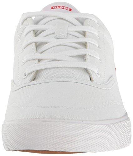 Der Tribe-Skate-Schuh der Kugel-Männer Weiss weiss