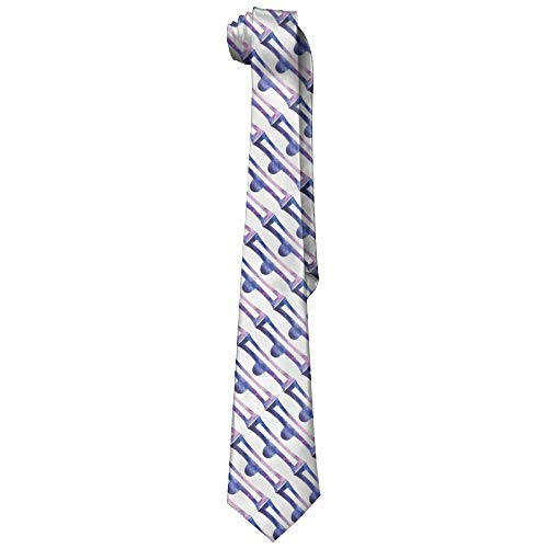 Men's Cotton Tie Starry Sky Libra Printed Floral Neck Tie