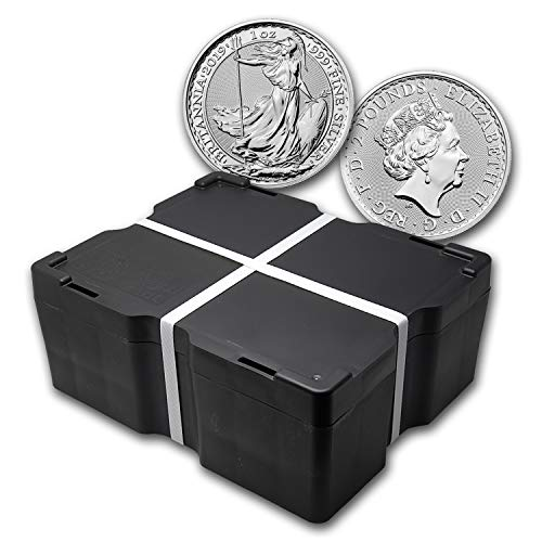 UK 2019 500-Coin 1 oz Silver Britannia Monster Box BU Brilliant Uncirculated