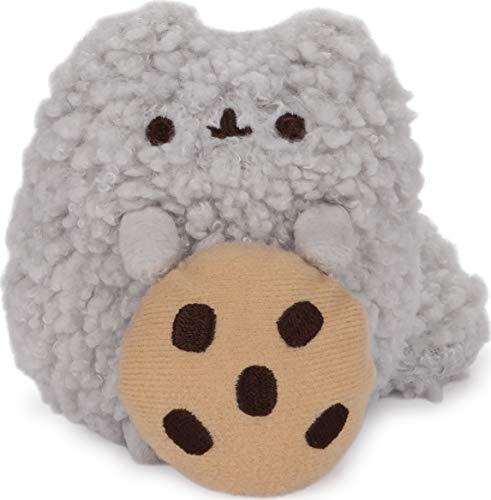 GUND Pusheen Stormy with Cookie Dangler Hanging Plush Stuffed Animal Cat, 5 inches