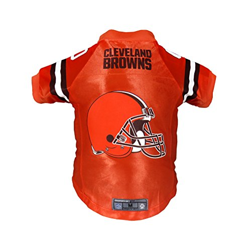 Littlearth NFL Cleveland Browns Premium Pet Jersey, Medium ()