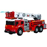 "Dickie Toys 24"" Light and Sound  Fire Brigade Vehicle (With Working Pump)"