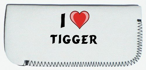 Glasses Case with I Love Tigger (first name/surname/nickname) SHOPZEUS