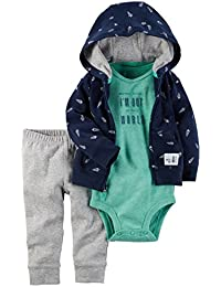 Carter's Baby Boys 3 Pc Sets 126g542, Navy, 6-9 Months Baby