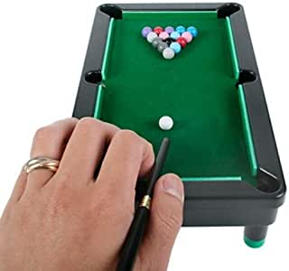 Juego de Mesa Mini Billar Tabletop Pool: Amazon.es: Juguetes y juegos