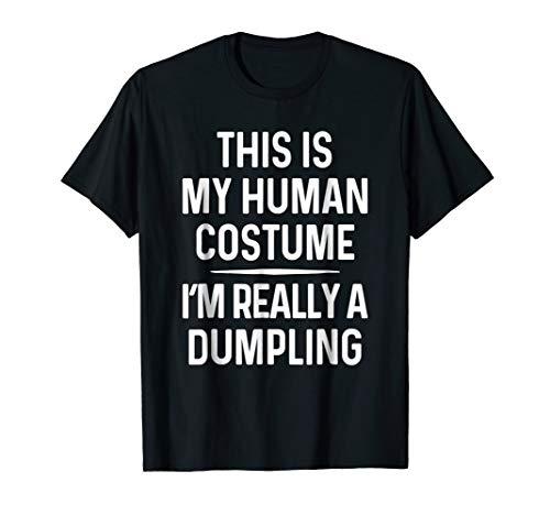 Funny Dumpling Costume Shirt Halloween Dumpling Tshirt