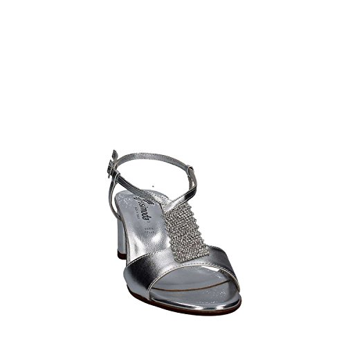 High Silver Sandals Heeled Susimoda Women 2686 OqPYAwA