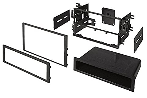 Ai HONK830 Double DIN/Single DIN Installation Dash Kit for Select 1986-Up Honda/Acura Vehicles (2002 Civic Dash Kit)