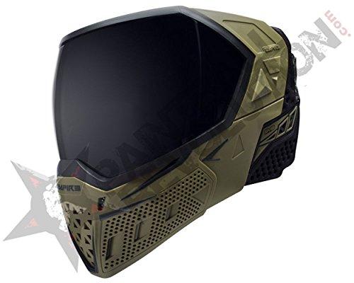 Olive Paintball Mask (Empire EVS Paintball Goggle Mask Olive Black)