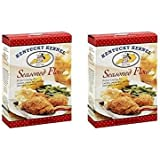 Hodgson Mill Seasoned Flour Economy Size 22 Ounce (2 Pack)
