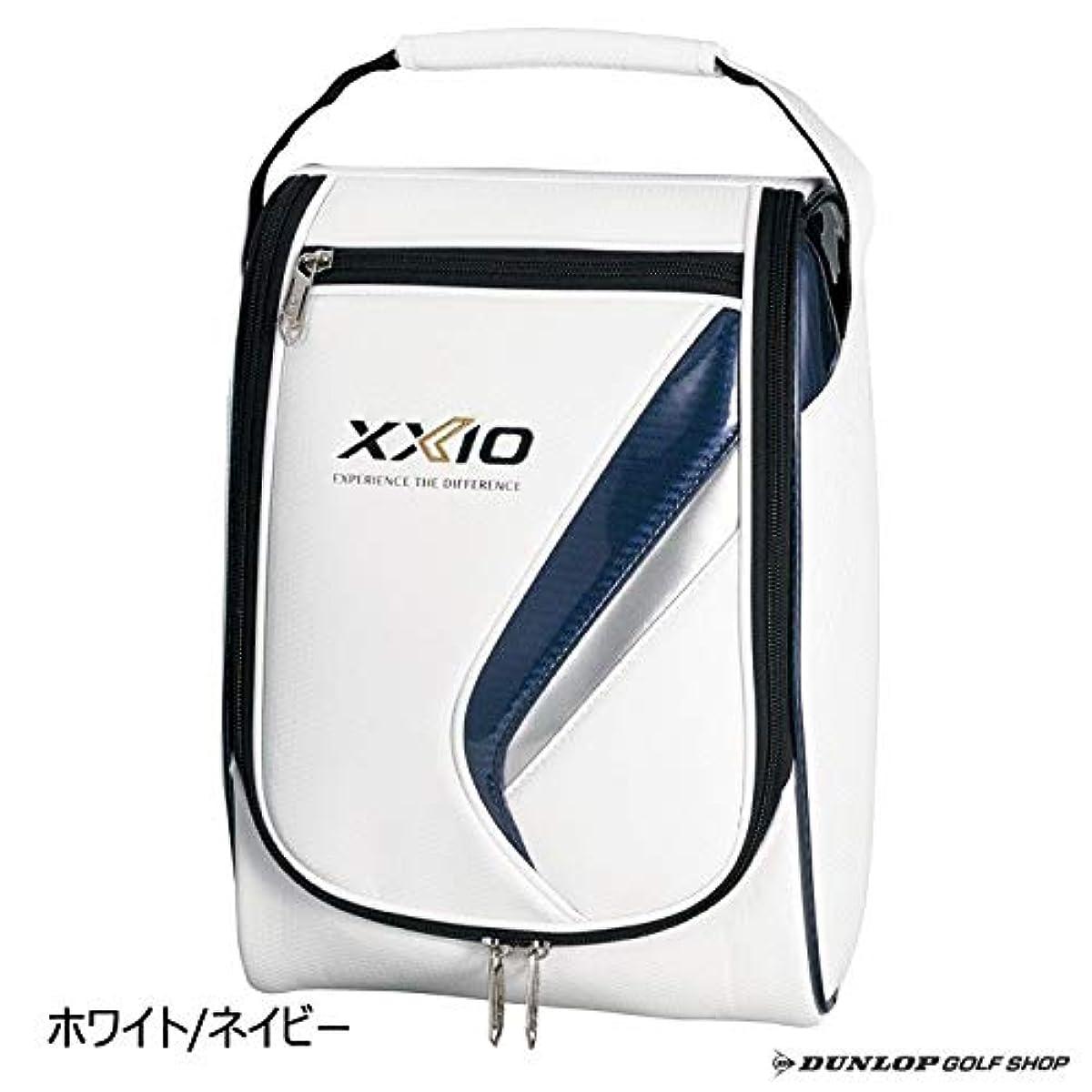 [해외] DUNLOP(던롭) 슈즈 케이스 XXIO 젝시오 슈즈 케이스 GGA-X109 화이트×네이비
