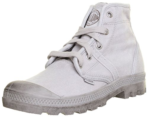 Palladium - Pallabrouse de lona mujer gris - Grey Gy