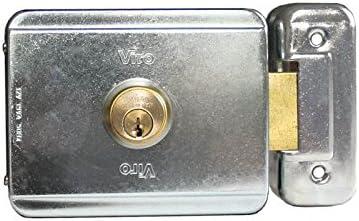 VIRO90 Cerradura eléctrica para puerta corredera: Amazon.es ...