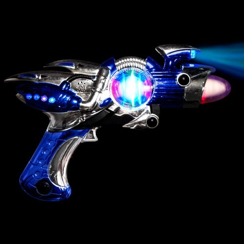 Light Up Flashing Space Gun with Super Sonic (Super Sonic Halloween Costume)