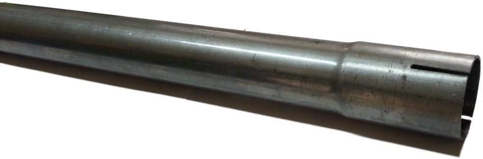 100 Cm Universal Auspuffrohr Ø 55 Mm Einseitig Aufgeweitet Abgasrohr Rohr Abgasanlage Pkw Lkw Auto