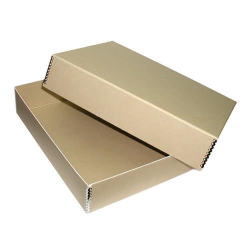 Adorama Archival 11x14'' Print Storage Box, Drop Front Design, 11 1/2'' x 14 1/2'' x 3'' by Adorama