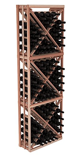 (Wine Racks America Redwood Full Height Diamond Bin Kit. Unstained)
