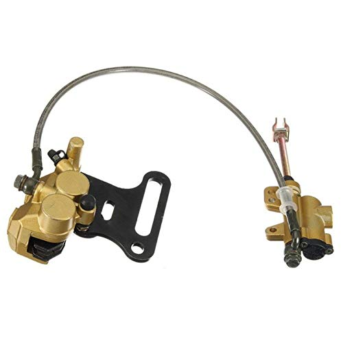Direct replacement 48 cm Cable Hydraulic Rear Disc Brake Caliper with Master Cylinder /& Brake Pads Brake System Fit 110cc 125cc 140cc 150cc PIT PRO PIT Bike Trail Bike Dirt Bike Easy Installation