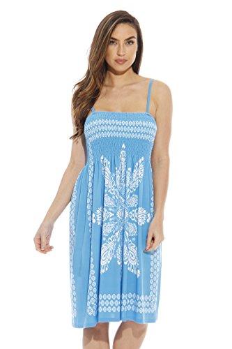 1870-Turqoise-S Just Love Summer Dresses for Women