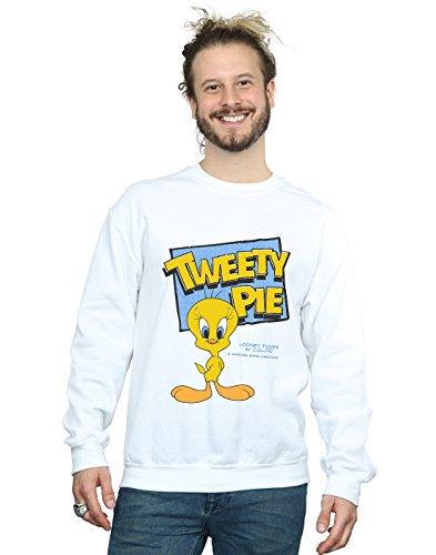 Looney De Tweety Camisa Tunes Blanco Pie Entrenamiento Hombre Classic rqr6P