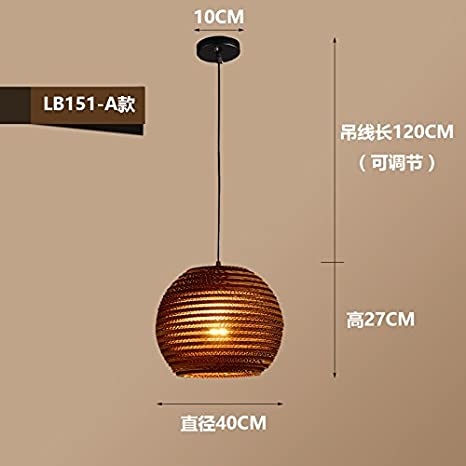 larsure Vintage Modern Lámpara colgante de techo (lámpara ...