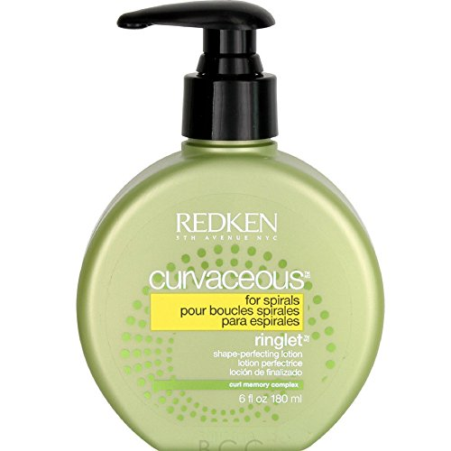 Redken Curvaceous Ringlet Anti-Frizz Perfecting Hair Treatment Lotion, 6 oz - Hair Ringlets
