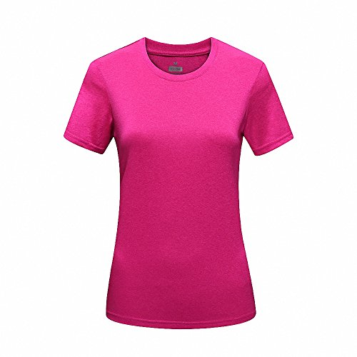 Maoko Women's Crew Quick Drying Short Sleeve Neckline Sport T-Shirt - Fr Oklahoma City Clothing