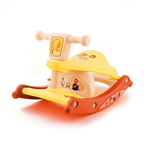 Ferty Baby Child Rocking Horse, Multifunction Portable Dinin