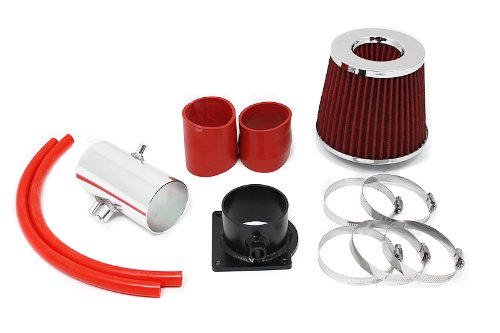 98 99 00 01 02 Mercury Cougar, Mystique 2.5L V6 Short Ram Intake Red (Included Air Filter) #SR-FD-3R
