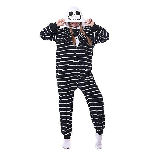 Scrump Doll Costume (ROYAL WIND Unisex-adult Kigurumi Animal Cosplay Costume Pajamas (Small, Jack))