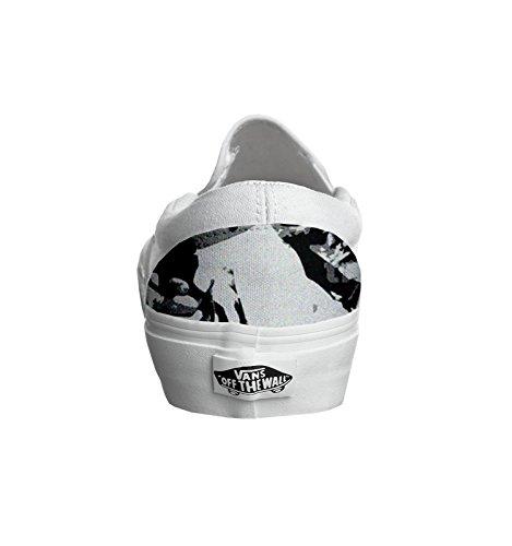 Unisex - Adulto Make Your Shoes vans con stampa artigianale personalizzata prodotto scarface tg
