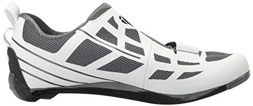 Pearl iZUMi Women's W Tri Fly Select V6 Cycling Shoe, White/Shadow Grey, 42 EU/10 B US by Pearl iZUMi (Image #7)