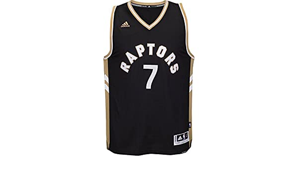 new product 24d6e fd5ab Youth Toronto Raptors #7 Kyle Lowry Basketball Jersey Black/Gold