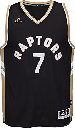 new product 3900a 0788b Youth Toronto Raptors #7 Kyle Lowry Basketball Jersey Black/Gold