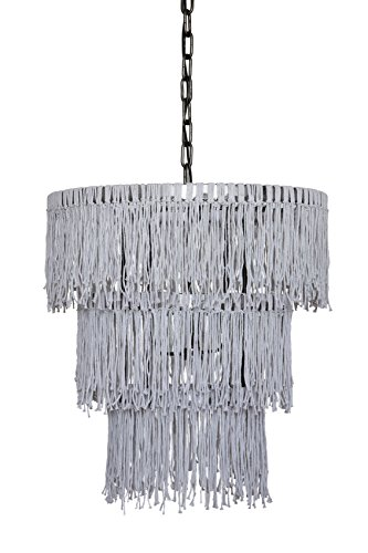 Creative co op da4637 flaire candle wick chandelier with three creative co op da4637 flaire candle wick chandelier with three lights by creative co aloadofball Choice Image