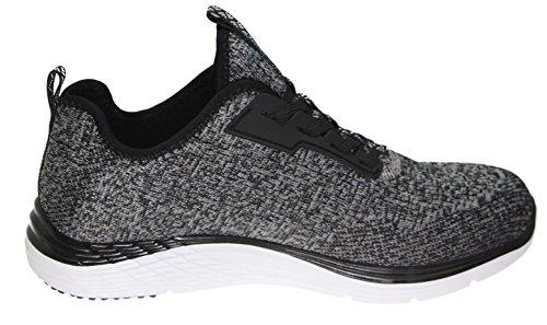 Skechers silver Sneaker Fashion Sport Black Valeris Women's zBYqzxrg