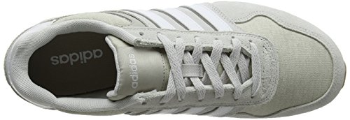 adidas Men's 10k Running Shoes, Green Grey (Grey One F17/Crystal White S16/Light Brown Grey One F17/Crystal White S16/Light Brown)