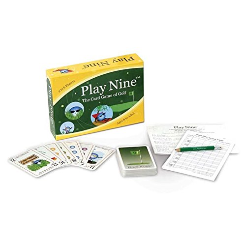 play nine hole golf card game - 2