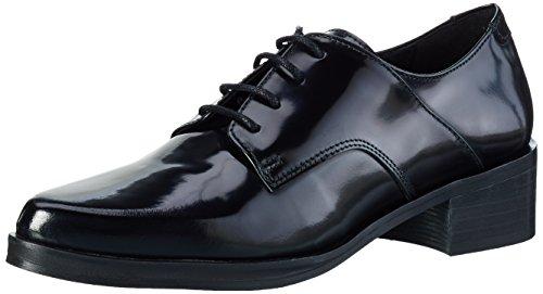 Buffalo London Es 30771 Polido, Zapatos De Cordones Derby para Mujer Negro