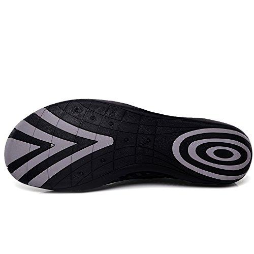 Pelle Shoes Giardini Sandali Water Scarpe Sandali Spiaggia Acqua Heise Ciabatte Pantofole Scarpe Donna Uomo DoGeek Scarpe da UY65qw50