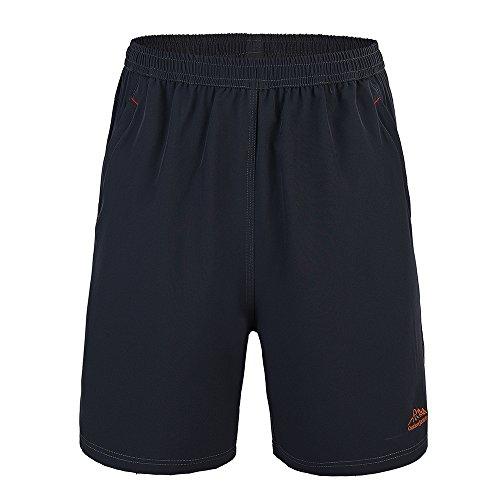 WFTBDREAM Sport Shorts Men Athletic Workout Shorts with Pockets Lightweight Black (Climbing Lightweight Shorts)