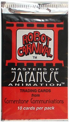 Robot Carnival: Masters Of Japanese Animation TCG Booster Pack (10 Cards)