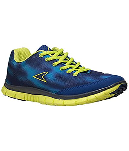 ecaef665b84030 BATA Power Men s Blue   Green Running Shoes  Buy Online at Low ...