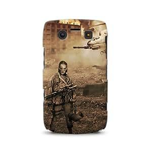 Diabloskinz D0023-0030-0001 - Carcasa para Blackberry Bold 9700 y 9780, diseño de guerra