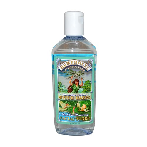 Facial Redness Remedy - Humphrey's Homeopathic Remedies Witch Hazel Facial Toner Redness Reducing, 2 Fluid Ounce