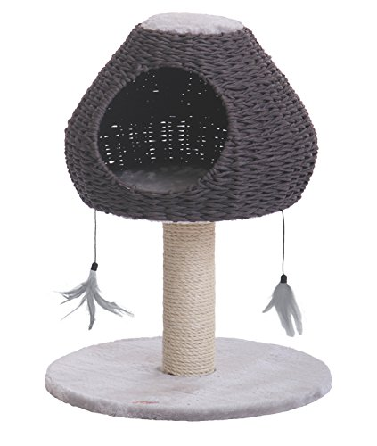 Nobby-Dina-Cat-Scratch-Tree-Light-Grey-48-x-48-x-62-cm